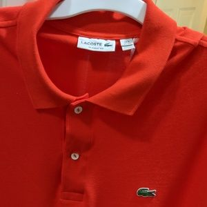 Men's Lacoste Polo Shirt - Size 9; 4XL